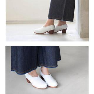 ノートエシロンス(note et silence)のhcubuch はまぐりがたヒール(ローファー/革靴)