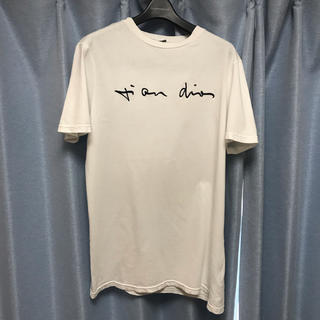 ディオールオム(DIOR HOMME)の極美品 19SSディオールオム diorhomme dior刺繍Tシャツ xs(Tシャツ/カットソー(半袖/袖なし))