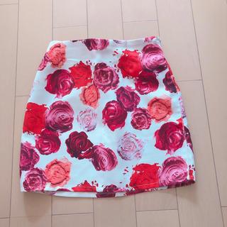スニープディップ(Sneep Dip)の花柄ミニスカート(ミニスカート)
