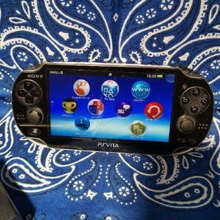 PlayStation Vita - 【本体】液晶シート有り!PS-vita1100本体