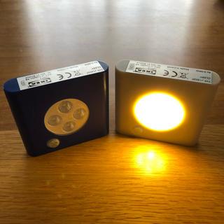 イケア(IKEA)のIKEA  OLEBY イケアセンサーライト (蛍光灯/電球)