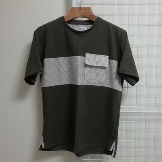 チャオパニック(Ciaopanic)のチャオパニック Tシャツ カーキ オリーブ ポケット ポケT(Tシャツ/カットソー(半袖/袖なし))