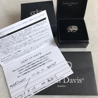 ジャスティンデイビス(Justin Davis)のジャスティン#2 ☆ 値下げ交渉可(リング(指輪))
