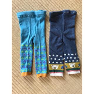 シマムラ(しまむら)のベビーレギンス 75cm(靴下/タイツ)