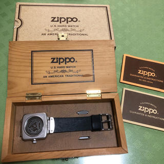 ジッポー(ZIPPO)のzippo 腕時計 U.S.HARD WATCH(腕時計(アナログ))