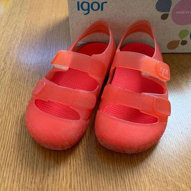 こども ビームス(コドモビームス)のigor イゴール サンダル 24(14.5センチ) キッズ/ベビー/マタニティのキッズ靴/シューズ (15cm~)(サンダル)の商品写真