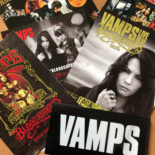 VAMPS LIVE2015 特典 クリアファイル・フライヤー(クリアファイル)