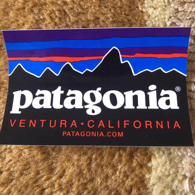 patagonia(パタゴニア)のパタゴニア ステッカー 自動車/バイクのバイク(ステッカー)の商品写真