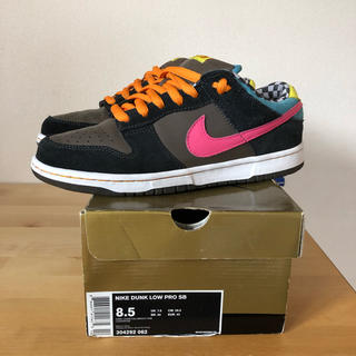 "NIKE - dunk low sb pro ""720 Degrees"" 2008年製"