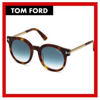 トムフォード(TOM FORD)のトムフォード、サングラス、FT0435、薄いブルーレンズ、べっ甲(サングラス/メガネ)