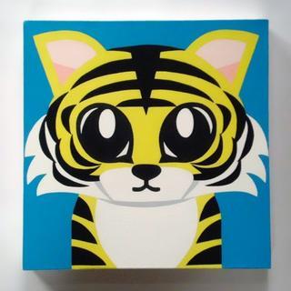【アクリル画】【絵画】【アート】タイガー1(アート/写真)