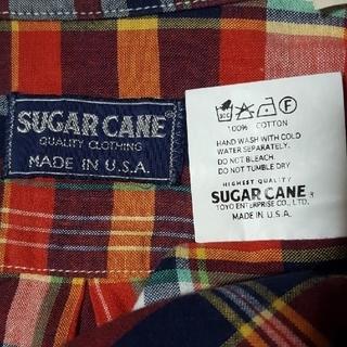 シュガーケーン(Sugar Cane)のアメリカ製 シュガーケーン シャツ SUGAR CANE シャツ 東洋 古着(シャツ)