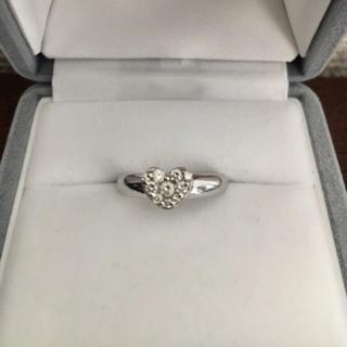 ポンテヴェキオ(PonteVecchio)のポンテヴェキオ ダイヤモンド リング K18WG 0.25ct 4.9g(リング(指輪))