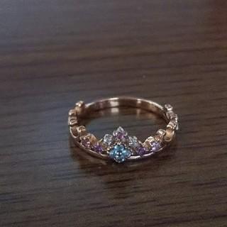 ティアラのピンキーリング☆ピンクゴールド(リング(指輪))