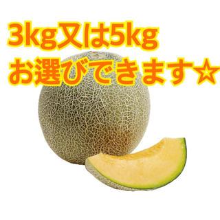 産地直送  クインシーメロン 3kg 5kg 糖度14度以上(フルーツ)