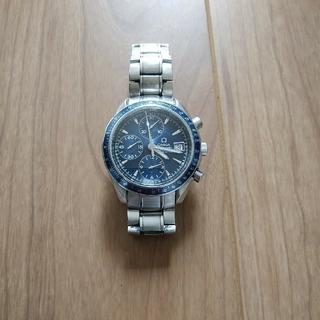 オメガ(OMEGA)のオメガ 3212.80 クロノメーター クロノグラフ デイト ブルー(腕時計(アナログ))