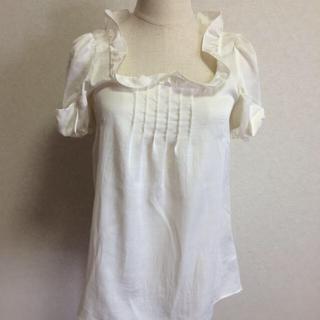 スウィングル(Swingle)のスウィングル  リボン袖ブラウス(シャツ/ブラウス(半袖/袖なし))