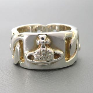 ヴィヴィアンウエストウッド(Vivienne Westwood)の極美品 ヴィヴィアンウエストウッドオーブツイストデザインリング シルバー925(リング(指輪))