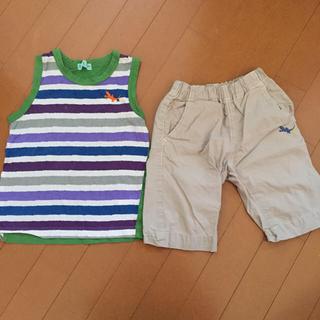 ハッカキッズ(hakka kids)のハッカ キッズ  120cm 上下セット(Tシャツ/カットソー)