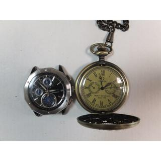 時計2個セットのジャンク品(腕時計(アナログ))