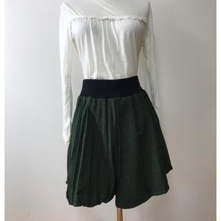 シネマクラブ(CINEMA CLUB)の女性 L《CINEMA CLUB》(左右違い)スカート(ひざ丈スカート)