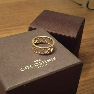 ココシュニック(COCOSHNIK)のココシュニック■リング■10金(リング(指輪))