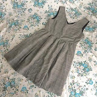 エブリン(evelyn)のevelyn  ジャンパースカート 未使用(ミニスカート)
