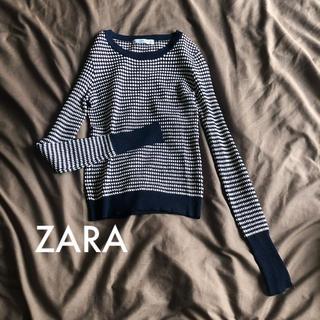 ZARA - ZARA デザインニット