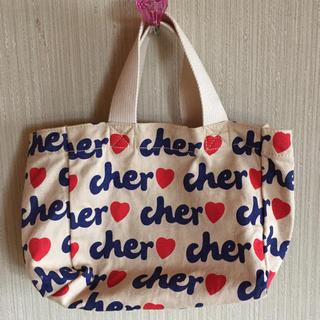 シェル(Cher)の未使用♡cher トートバッグ 付録♡mini エコバッグ(エコバッグ)