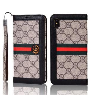 グッチ(Gucci)のGUCCI iphoneケース 手帳型(iPhoneケース)