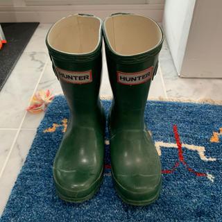 HUNTER - HUNTER キッズ 長靴 UK9 (16cmくらい)