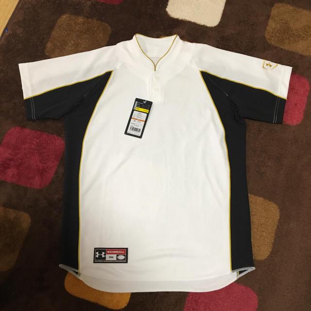 UNDER ARMOUR(アンダーアーマー)のアンダーアーマー☆ベースボールシャツ        新品・未使用    送料込み スポーツ/アウトドアの野球(ウェア)の商品写真