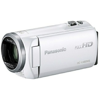 パナソニック(Panasonic)の未開封新品★(2台)デジタルハイビジョンビデオカメラ HC-V480MS-W(ビデオカメラ)