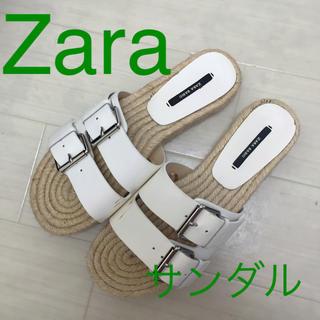 ザラ(ZARA)の【ZARA】サンダル(サンダル)
