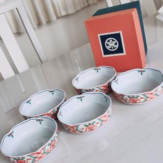 タチキチ(たち吉)のたち吉  間取赤絵 小鉢(食器)