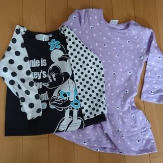ディズニー(Disney)の90 ミニー二枚セット(Tシャツ/カットソー)