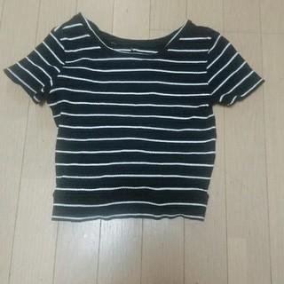 スパイラルガール(SPIRAL GIRL)のニットTシャツ(Tシャツ(半袖/袖なし))