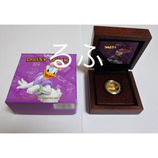 ディズニー(Disney)の2014年 ニウエ Niue ディズニー  デイジーダック  金貨1/4オンス(貨幣)
