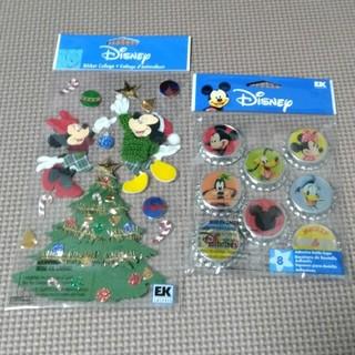 ディズニー(Disney)のディズニー ステッカー 2つセット スクラップブッキング 未開封(その他)