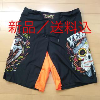 【新品/送料込】総合格闘技 MMA ファイトショーツ サイズS(トレーニング用品)