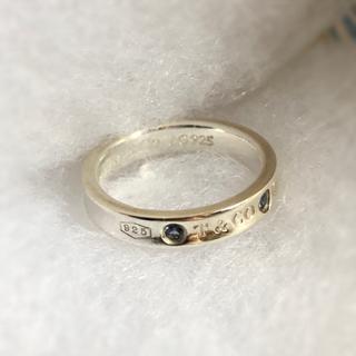 ティファニー(Tiffany & Co.)のティファニー ナローリング モンタナサファイア(リング(指輪))