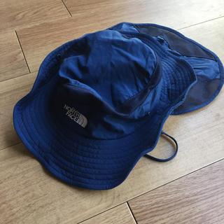 ザノースフェイス(THE NORTH FACE)の美品! ノースフェイスキッズ帽子(帽子)