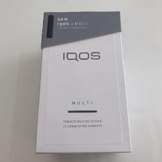 アイコス(IQOS)のIQOS3 MULTI マルチ ベルベットグレー(タバコグッズ)