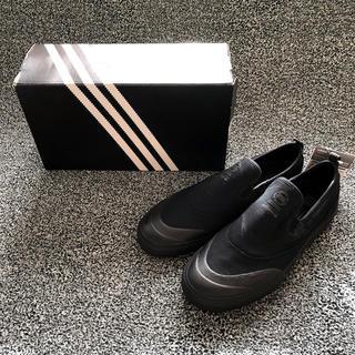 アディダス(adidas)の【新品】adidasスケートボーディングスリッポン 28.5cm オールブラック(スリッポン/モカシン)