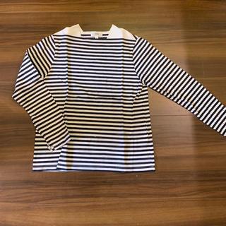 ハイク(HYKE)のhykeハイク ボーダーカットソーロンTトップス 2(Tシャツ(長袖/七分))