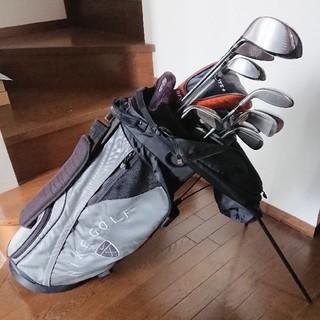 ナイキ(NIKE)の【NIKE ナイキ】ゴルフクラブフルセット 12本+α(ゴルフバック付)(クラブ)