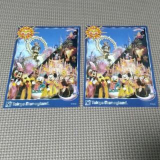 ディズニー(Disney)のディズニーランド 15周年時 アンケート回答 ポストカード2枚(その他)