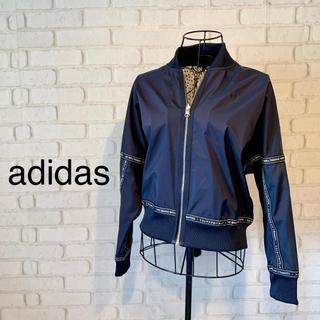 アディダス(adidas)の【美品】adidas ナイロンジャケット(ナイロンジャケット)
