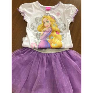 ディズニー(Disney)のディズニー プリンセス 上下セット(Tシャツ/カットソー)