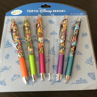 ディズニー(Disney)のディズニーボールペン ディズニー限定 可愛い 五本セット♡(ペン/マーカー)
